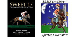 Black Caviar 1st - MOONee Valley Light 2nd!