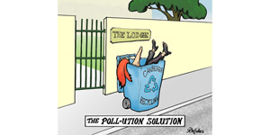 An alternative pollution solution!