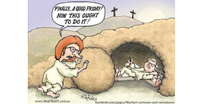 but beware Easter Sunday!