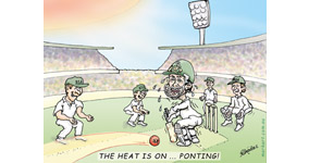 Ponting's 168th Test match