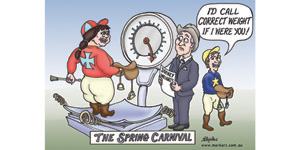 Spring carnival - cartoon